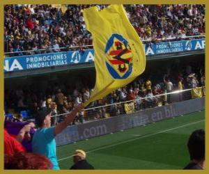 Puzle Vlajka Villarreal CF