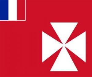 Puzle Vlajka Wallis a Futuna