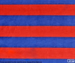 Puzle Vlajkou FC Barcelona