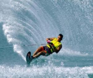 Puzle Vodní lyžování