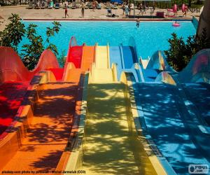 Puzle Vodní skluzavka, Aquapark