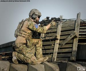 Puzle Voják