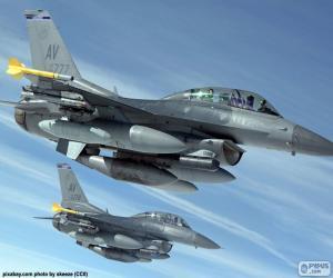 Puzle Vojenská letadla