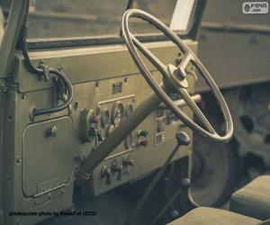Puzle Volant Jeepu Willys