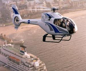 Puzle Vrtulník
