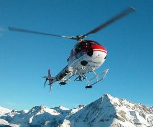 Puzle Vrtulníku záchranné