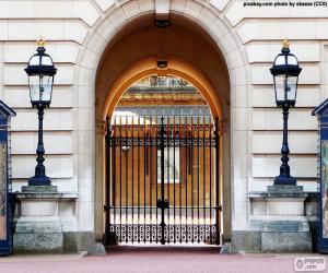 Puzle Vstup do Buckinghamského paláce