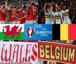 Puzle Wales-BE, čtvrtfinále Euro 2016