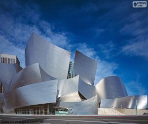 Puzle Walt Disney Concert Hall, Spojené státy americké