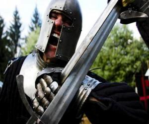 Puzle Warrior bojovat bitvu
