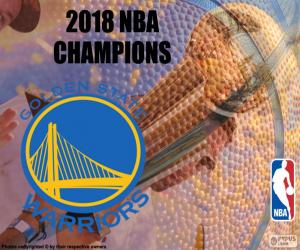 Puzle Warriors NBA mistry 2018