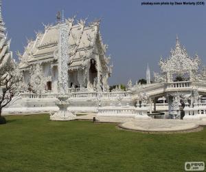 Puzle Wat Rong Khun, Thajsko