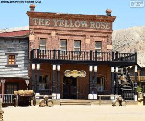 Puzle Western saloon