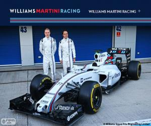 Puzle Williams F1 Team 2015