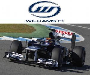 Puzle Williams FW34 - 2012 -