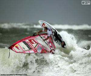 Puzle Windsurfing wave