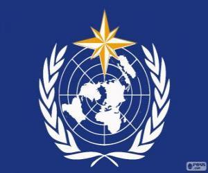 Puzle WMO logo, Světová meteorologická organizace