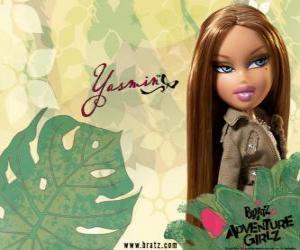 Puzle Yasmin - Pretty Princess - je krásná španělština. Jeho prostřední jméno je Lea, je klid a trpělivost.
