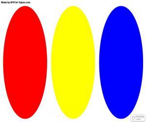 Puzle Základní barvy