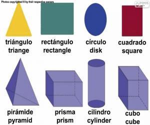 Puzle Základní geometrické tvary