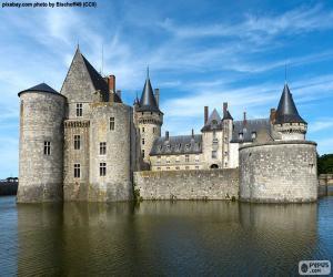 Puzle Zámek Sully-sur-Loire, Francie