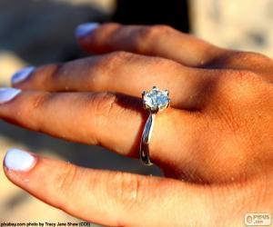 Puzle Zásnubní prsten