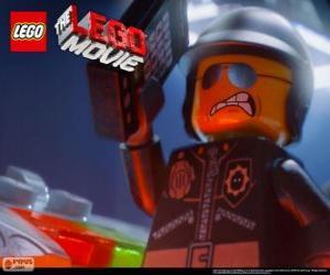 Puzle Zły Polda, špatné policie, policejní důstojník film Lego