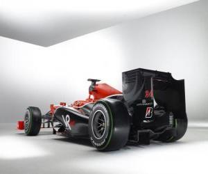 Puzle Zadní pohled, Virgin VR-01