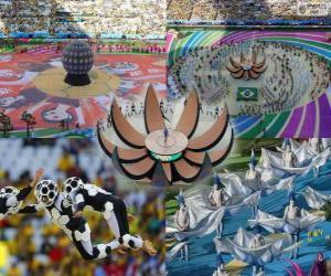 Puzle Zahajovací ceremoniál světového poháru 2014 v Brazílii