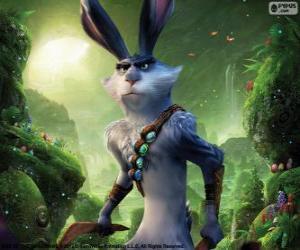 Puzle Zajda, velikonoční králík. Postava z Legendární Parta