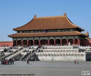 Puzle Zakázané město, Čína