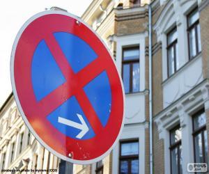 Puzle Zastavení a parkování zakázáno