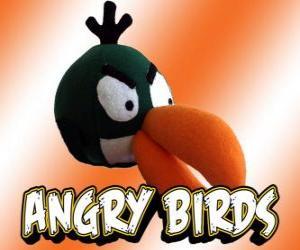 Puzle Zelený pták (Green Bird), pták se bumerangový efekt