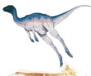 Puzle Zephyrosaurus byl klasifikovaní koridor jen metry na délku o hmotnosti 50 kg
