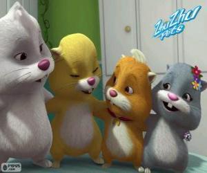 Puzle Zhu Zhu Pets křečků