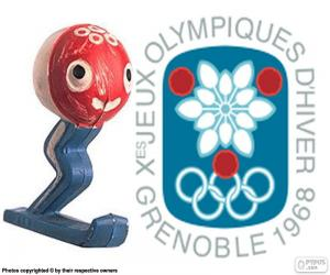Puzle Zimní olympijské hry 1968