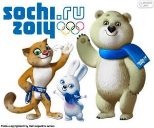 Puzle Zimní olympijské hry Soči 2014