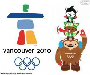 Puzle Zimní olympijské hry Vancouver 2010