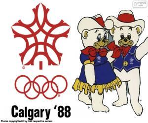 Puzle Zimních olympijských hrách 1988 v Calgary