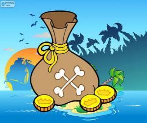 Puzle Zlaté mince