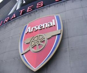 Puzle Znak Arsenal FC