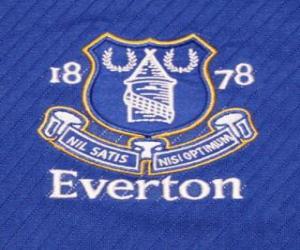 Puzle Znak Everton FC