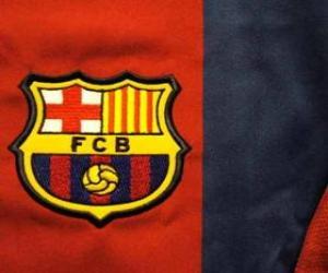 Puzle Znak FC Barcelona
