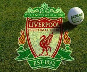 Puzle Znak Liverpool FC