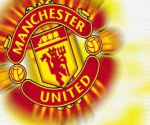 Puzle Znak Manchester United FC