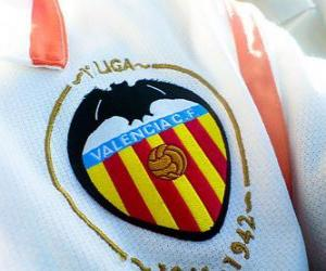 Puzle Znak Valencia CF