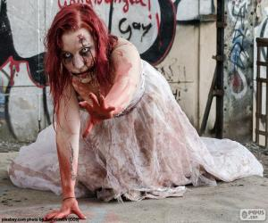 Puzle Zombie, Halloween
