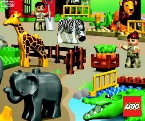 Puzle Zoo od Lego