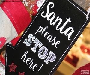Puzle Zpráva pro Santa Claus