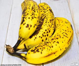 Puzle Zralé banány